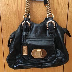 Badgley Mishka black leather purse